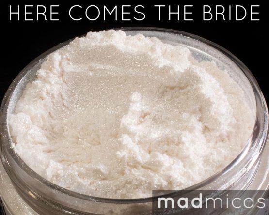 Prebuy Mad Micas Here Comes the Bride Bright White ica