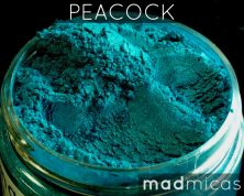 Prebuy Mad Micas Peacock Blue Green ica