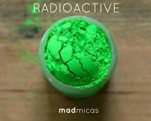 Prebuy Mad Micas Radioactive Green Pigment
