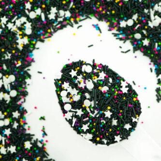 rubikscube candy sprinkles
