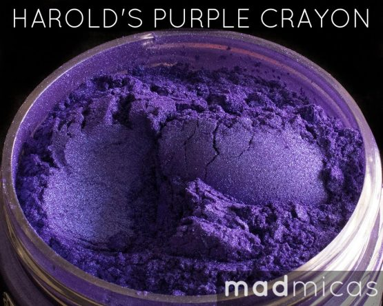 Mad Micas Harolds Purple Crayon Mica