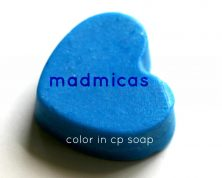 Mad Micas CP Results Blue Shocker Neon Pigment Canada