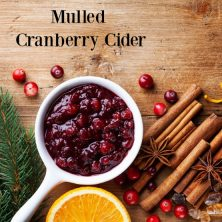 Mulled Cranberry Cider Fragrance Oil Canada