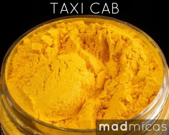 Mad Micas Taxi Cab Yellow Mica Canada