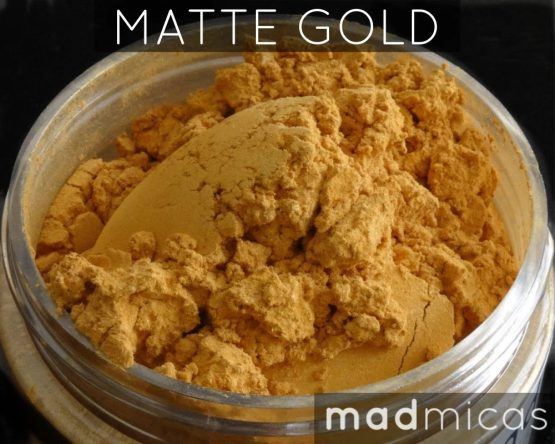 Mad Micas Matte Gold Mica Canada