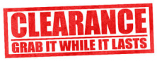 Discontinued Clearance